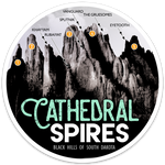 Cathedral Spires Sticker