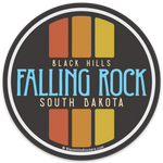Falling Rock Sticker
