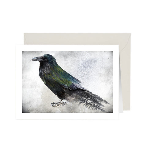 Nevermore NoteCard