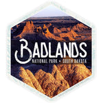 Badlands Sticker