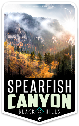 Spearfish Canyon Sticker