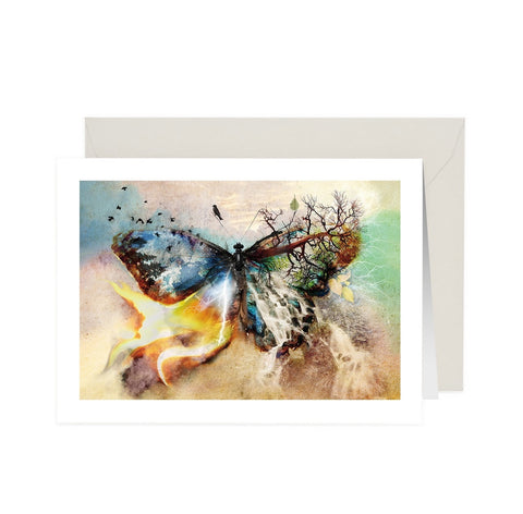 Butterfly Affect Note Card