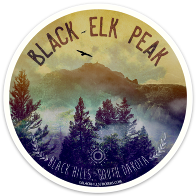 Black Elk Peak Sticker