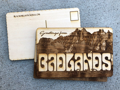 Black Hills Wood Postcard
