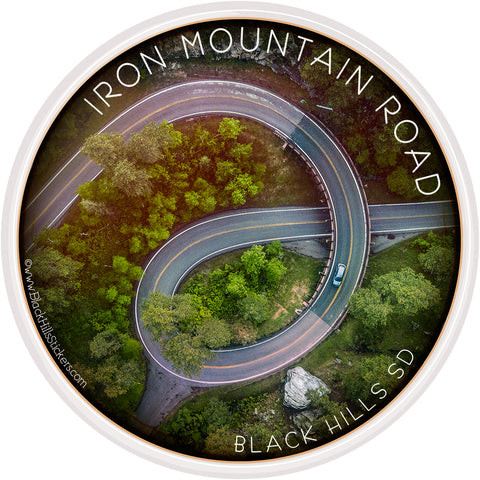 Iron Mountain Road Sticker