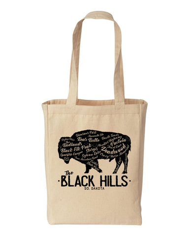 Black Hills Places Totebag