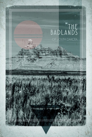 Badlands Postcard 2