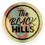 Black Hills Map Sticker