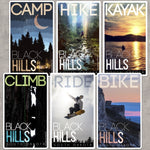 Black Hills Adventure Stickers