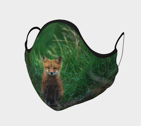Baby Fox Face Mask