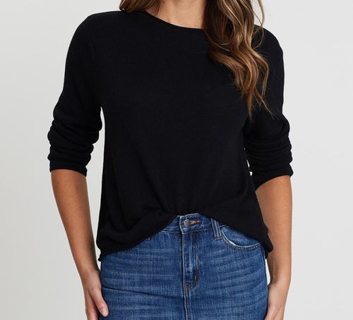 Amy Sweater - Black