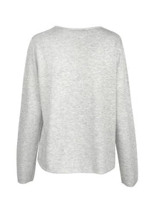 Amy Sweater - Grey Marle