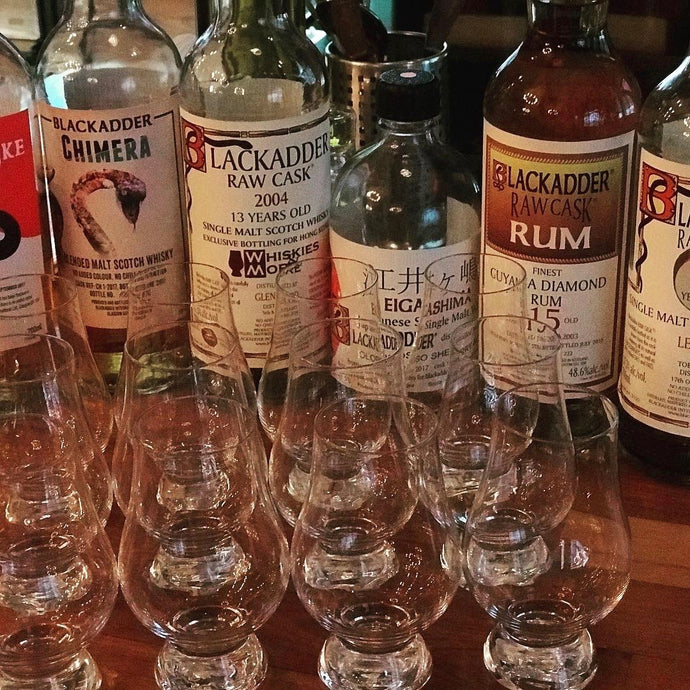 Blackadder Whiskies and Rum Tasting at 13GastroWine (Killiney)