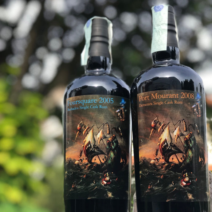Foursquare 2005 & Port Mourant 2008 (for Milano Rum Festival 2018)