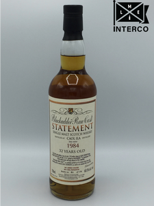 Blackadder Statement No 23 Raw Cask Caol Ila 32YO 1984