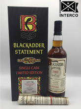 Load image into Gallery viewer, Blackadder Statement No 11 Raw Cask Glen Esk 30YO 1983