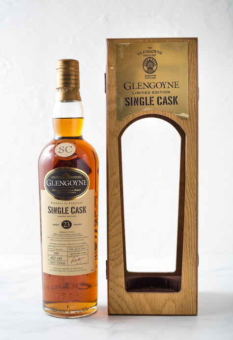 Glengoyne 1986 Single Cask 23 Year Old