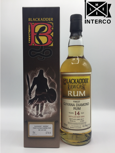 Blackadder Raw Cask Guyana Diamond Rum 14YO 2003