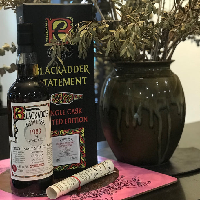 Blackadder Statement No 11 Raw Cask Glen Esk 30YO 1983