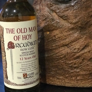 Blackadder Raw Cask The Old Man of Hoy 12YO 2005 OMH 2018-2