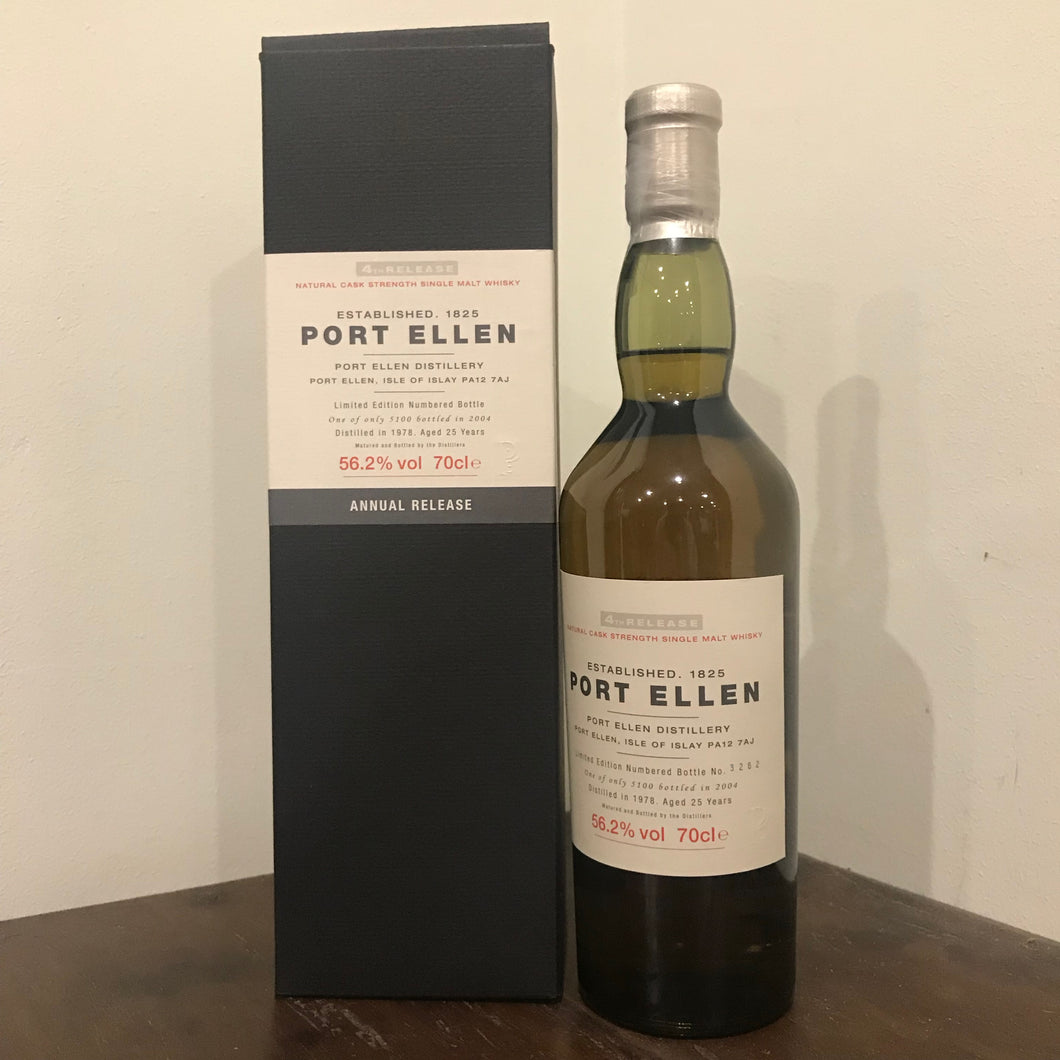 Port Ellen 25YO (1978 - 2004) 4th Release