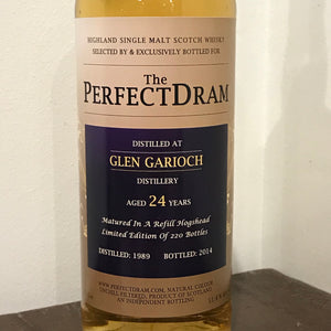 The Perfect Dram Glen Garioch 24YO 1989