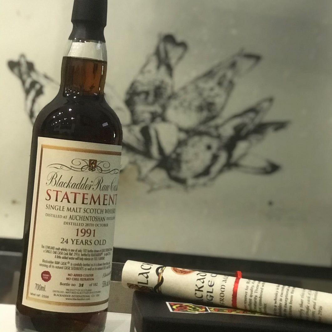 Blackadder Statement No 16 Raw Cask Auchentoshan 24YO 1991