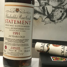 Load image into Gallery viewer, Blackadder Statement No 16 Raw Cask Auchentoshan 24YO 1991
