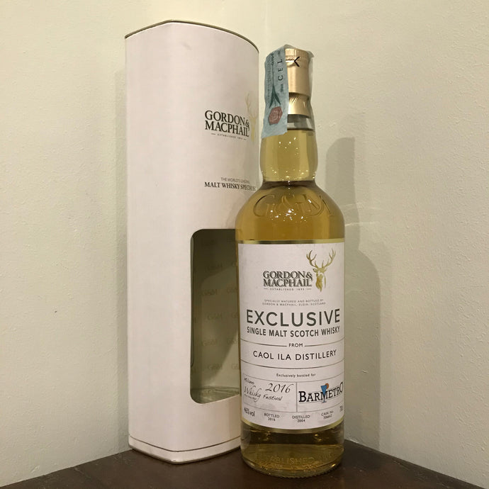 G&M Caol Ila 2004 11YO (bottled for Milano Whisky Festival 2016 & Bar Metro)