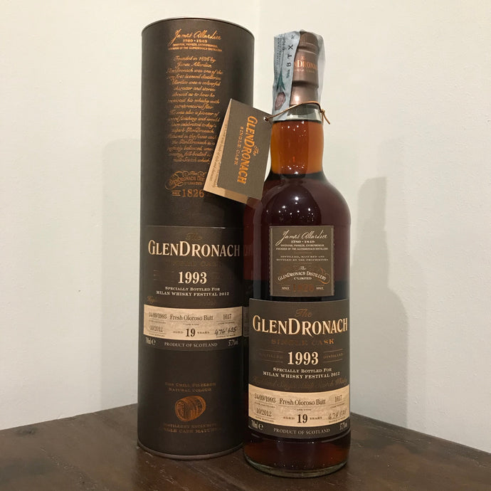Glendronach 1993 19YO (bottled for Milano Whisky Festival 2012)