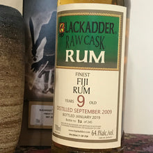 Load image into Gallery viewer, Blackadder Raw Cask Fiji Rum 9YO 2009
