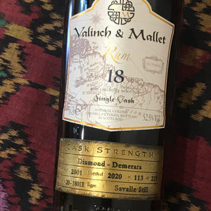 Valinch & Mallet Diamond - Demerara 2001 18YO