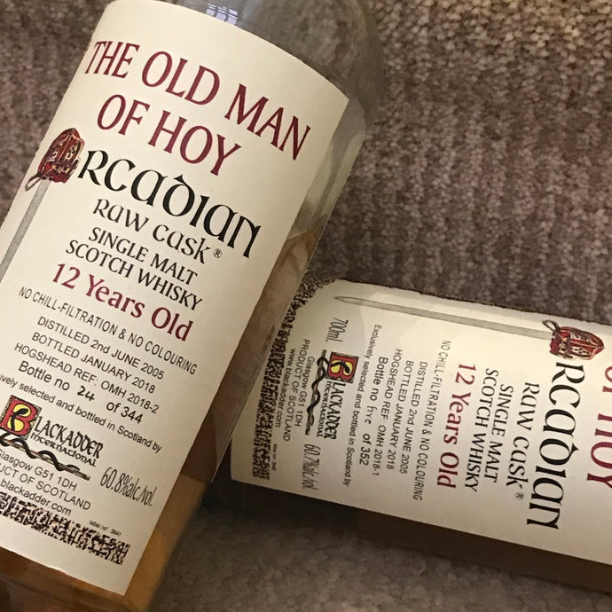 Blackadder Raw Cask Old Man of Hoy 2018-1 & 2018-2 (Set)