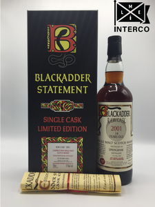 Blackadder Statement No 13 Raw Cask Springbank 14YO 2001