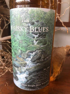"The Whisky Blues Set ""Invergordon 1972 / Irish 1990 / Old Rhosdhu 1990 / Highland Malt 1987"""