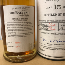 Load image into Gallery viewer, Balvenie 15 YO (Sandy Grant Gordon)