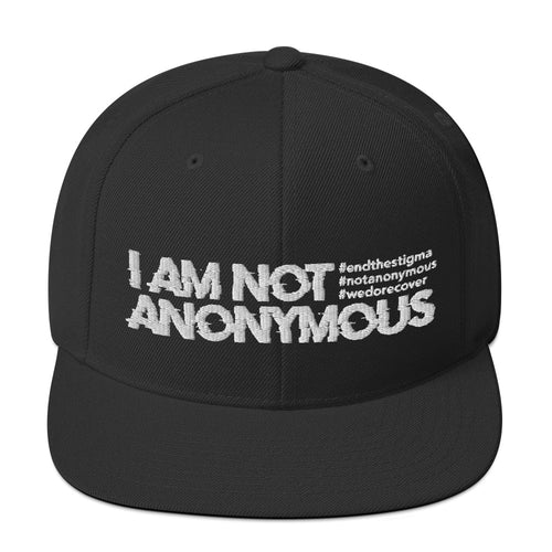 I Am Not Anonymous Snapback Hat