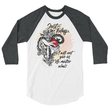 Load image into Gallery viewer, I will not give in. No matter what! - Baseball Tee
