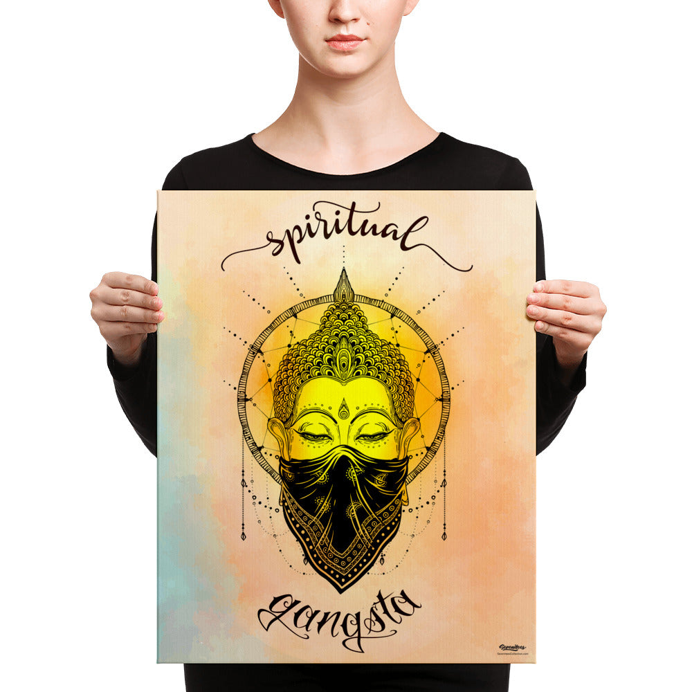 Spiritual Gangsta Art Canvas