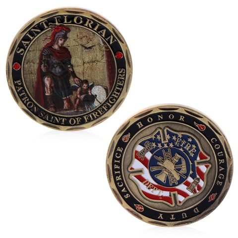 St. Florian Firefighters Commemorative Coin