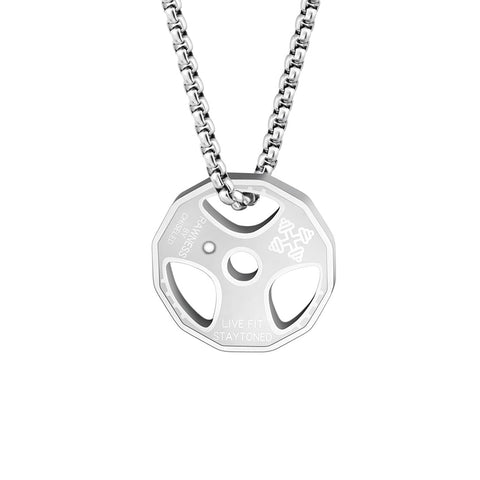 Stainless Steel Gym Necklace