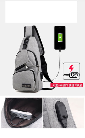 Men Cross Body Sling Bag