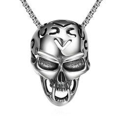 Skull Helmet Necklace