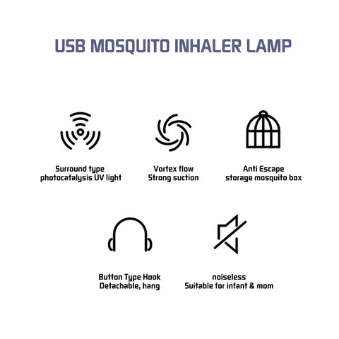 Mosquito Destroyer Lamp