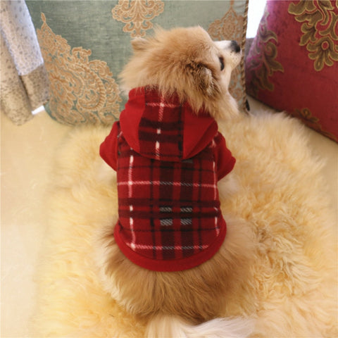 Winter Warm Dog Clothes - Small Dogs