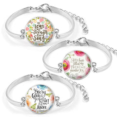 Gospel Bracelets-A Set Of 3