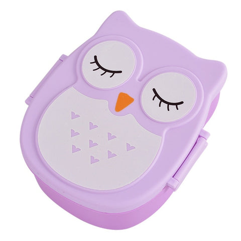 Cute Owl Lunch Box