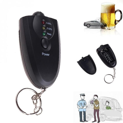 Keychain Alcohol Breath Analyzer