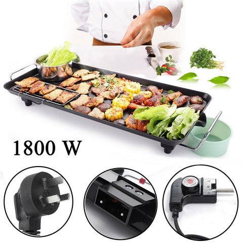 Electric Grill BBQ Plate