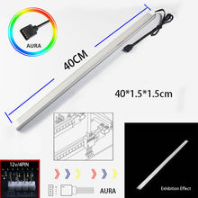 Load image into Gallery viewer, AURA Multi-color 12V/4PIN Aluminum Breathing Light Strip Magnetic RGB LED
